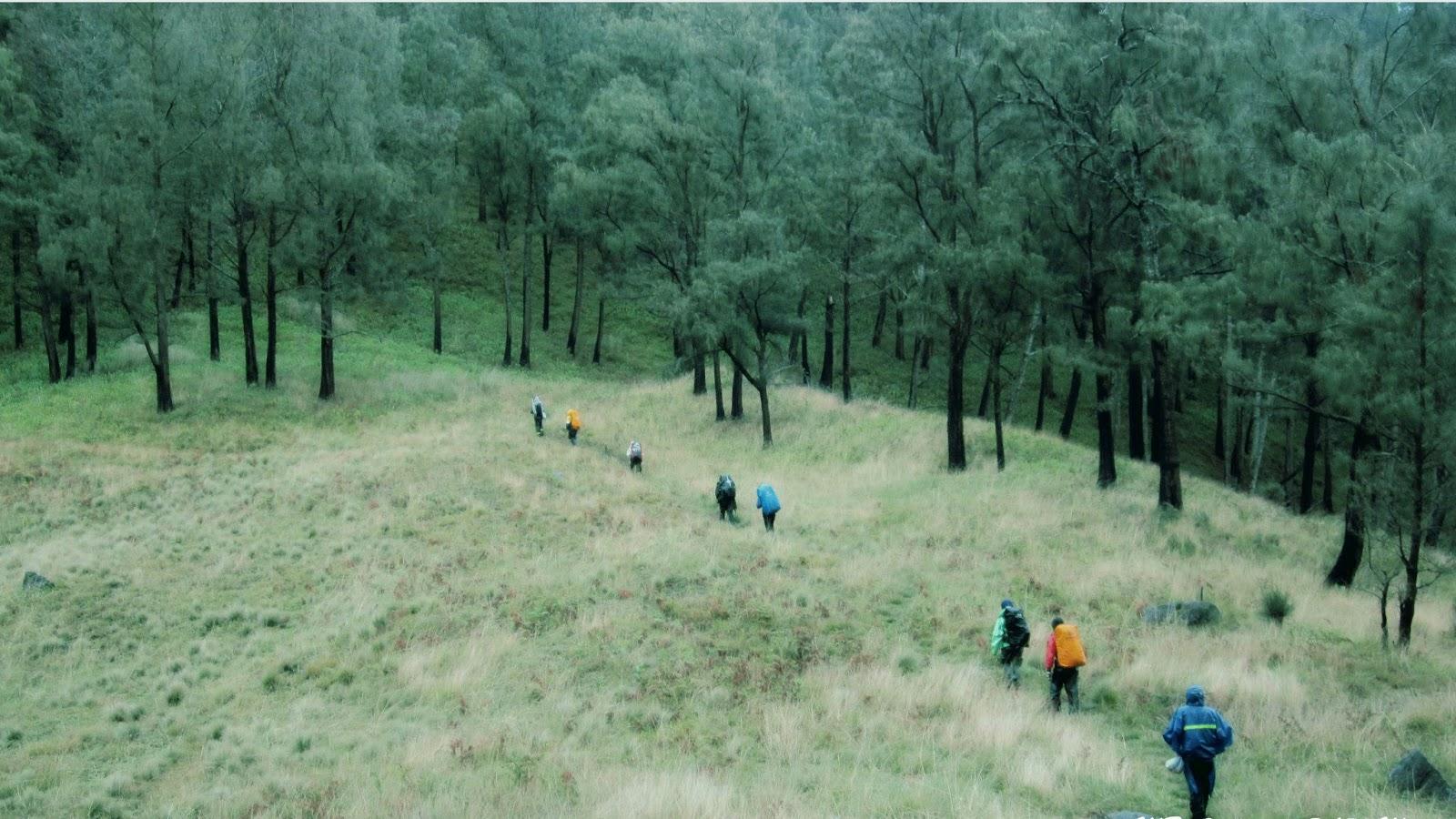 Gunung Arjuna Jalur pendakian