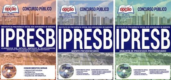 Apostila concurso IPRESB SP 2017