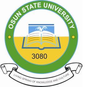 UNIOSUN Pre-Degree Supplementary Admission Form 2017