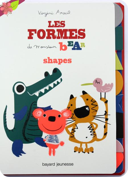 Les formes de Monsieur Bear de Virginie Aracil