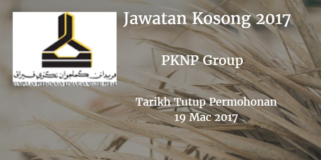 Jawatan Kosong PKNP Group 19 Mac 2017