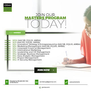 Join our masters program today with unlimited job opportunities in Germany