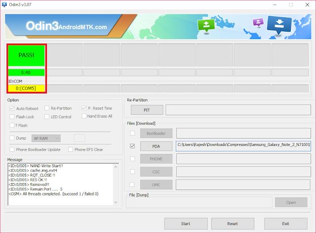 Download Odin3 versi terbaru
