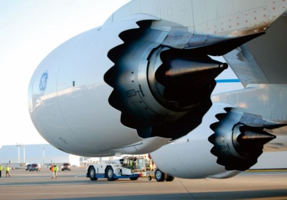 Boeing 747-8 engines