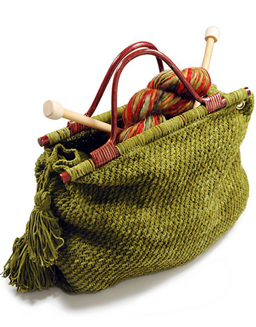 Knitting Tote - Free Pattern