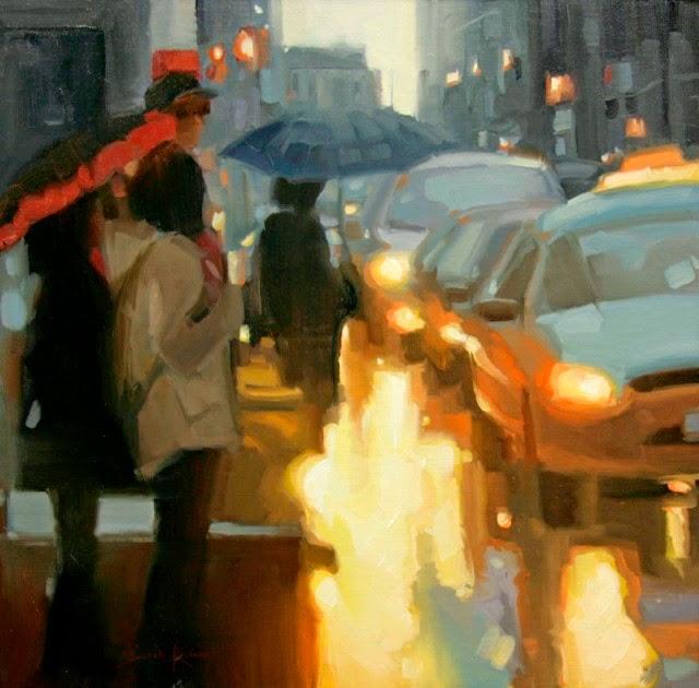 Импрессионистские картины маслом. Sarah Kidner