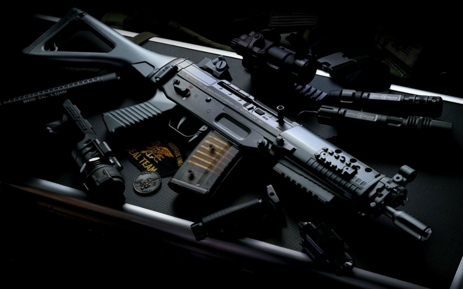 Guns Wallpaper Hd: Mp5 Machine Gun Photos HD Wallpapers