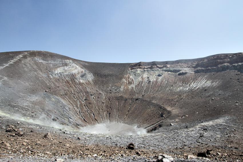 Wulkan na wyspie Vulcano