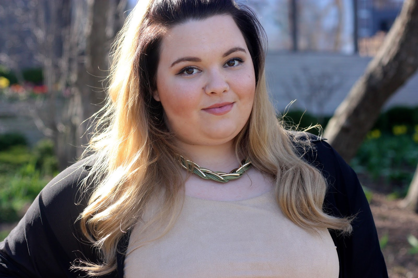 button up sheer maxi dress, mini skirt, suede tank top, plus size fashion blogger, fashion blogger, plus size, natalie craig, natalie in the city, coachella fashion, stagecoach fashion, festival plus size fashion