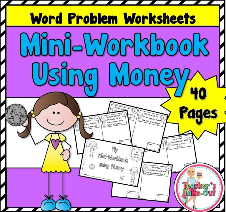 Printable Worksheets money problem worksheets : Teacher's Take-Out: Problem Solving/Word Problems