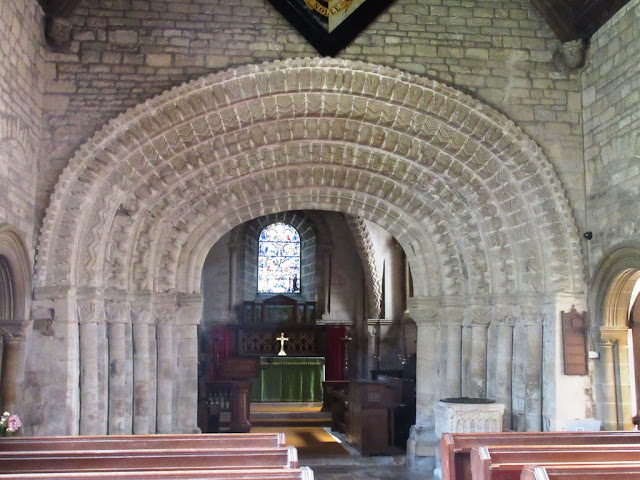 Tickencote chancel arch