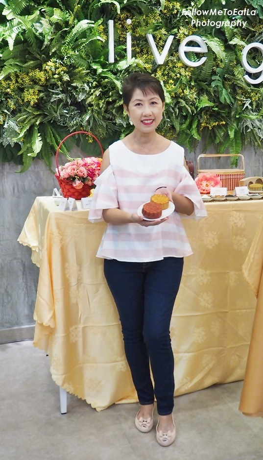 Launch Of BMS Organics Mooncakes At MyTOWN Shopping Centre