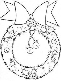 Riscos para pintura em tecido de Natal