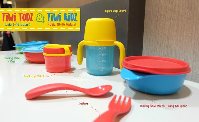 Tupperware Baby Cutie Twee Tiwi Todz Tiwi Kidz