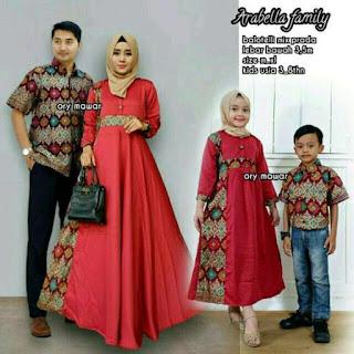 baju couple lebaran untuk keluarga