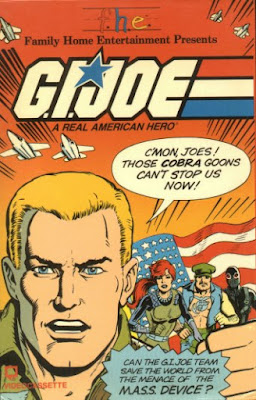 G.I. Joe: A Real American Hero -- Original 1980s VHS Cover!