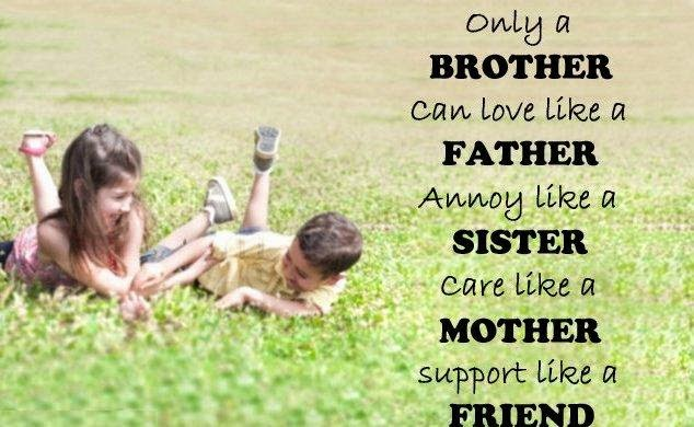 Nice quotes on brother and sister-8846
