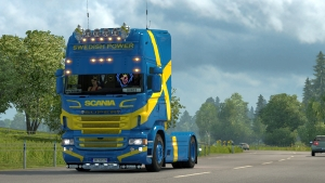 Scania RJL Swedish Power skin mod 1.1