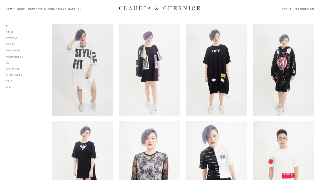 Black dress qoo10 -  One Piece Wear To Unisex Outfits Loud To Elegant Claudia Chernice Has It All Clothes Are Also Seasonal With New Stocks Arriving Every Other Month