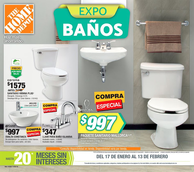 Catalogo Home Depot febrero 2019