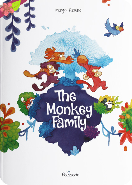The Monkey Family de Margo Renard - éditions La Palissade