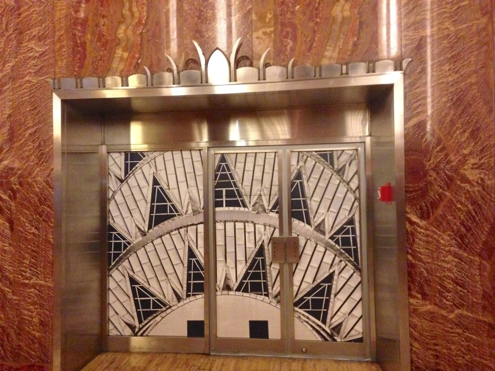 The 10 year plan touring nyc the chrysler building for Chrysler building lobby mural