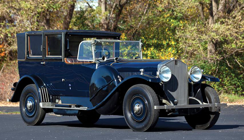 just a car guy 1924 isotta fraschini tipo 8a imperial landaulet