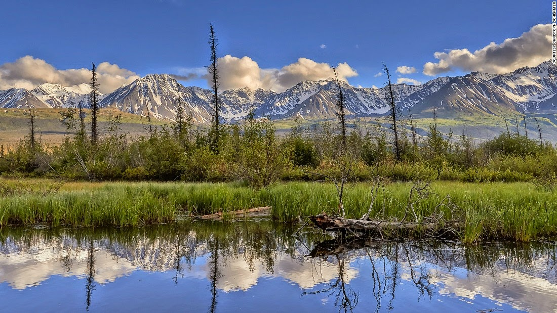 Covering four national parks in Canada and Alaska, one of this UNESCO Heritage Site's biggest draws (literally) is Mount Logan in Kluane National Park. At 5,959 meters (16,404 feet), Canada and tallest mountain is a haven for hikers and campers