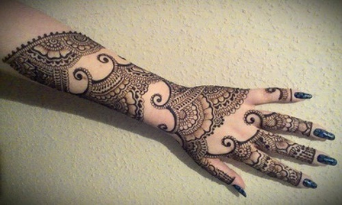 Arabic Mehndi Designs For Dulhan