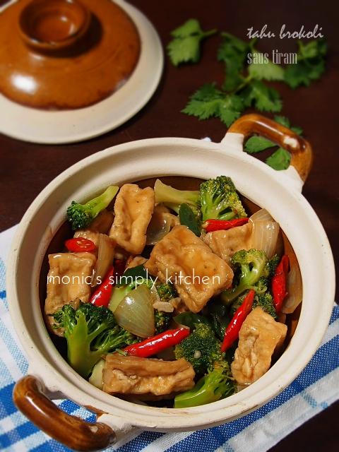 resep tahu brokoli saus tiram