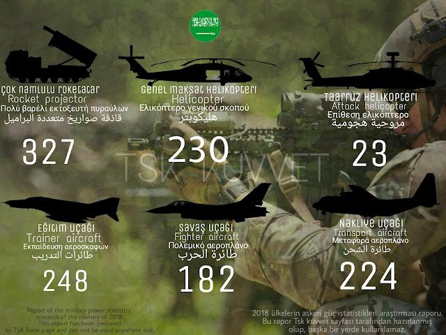 Suudi arabian army power