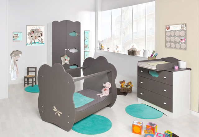 theme chambre b b gar on. Black Bedroom Furniture Sets. Home Design Ideas