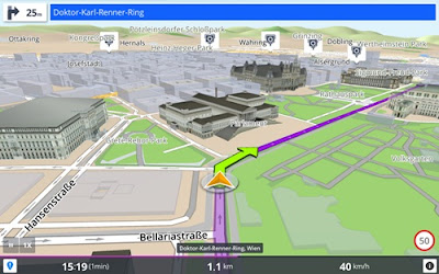 aplikasi gps navigation and maps sygic