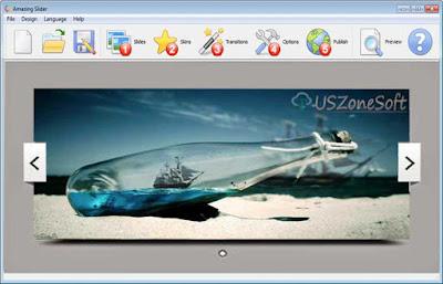 Amazing Slider download, Professional jQuiry image slider-slide show designer maker program for Blogger, Wordpress, Joomla, Drupal and any web site or blog