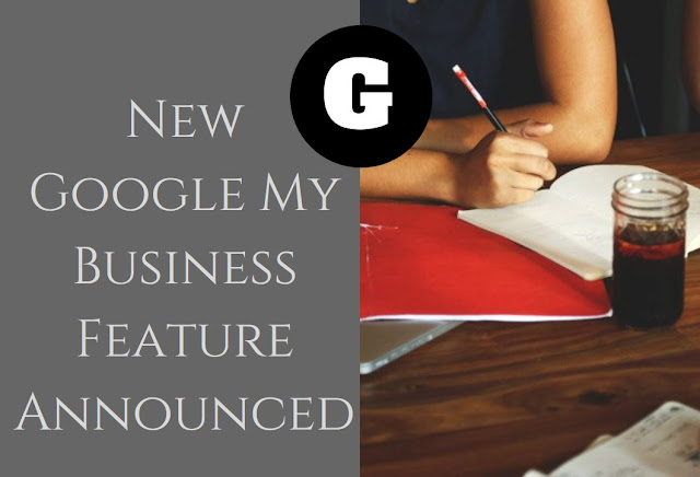 New Google My Business Feature