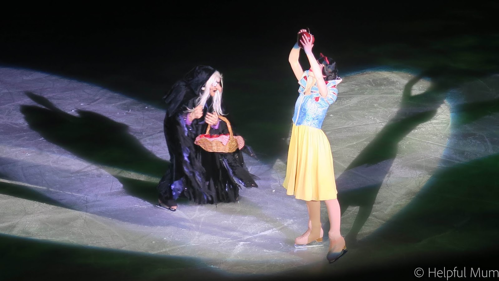 Snow White and Queen