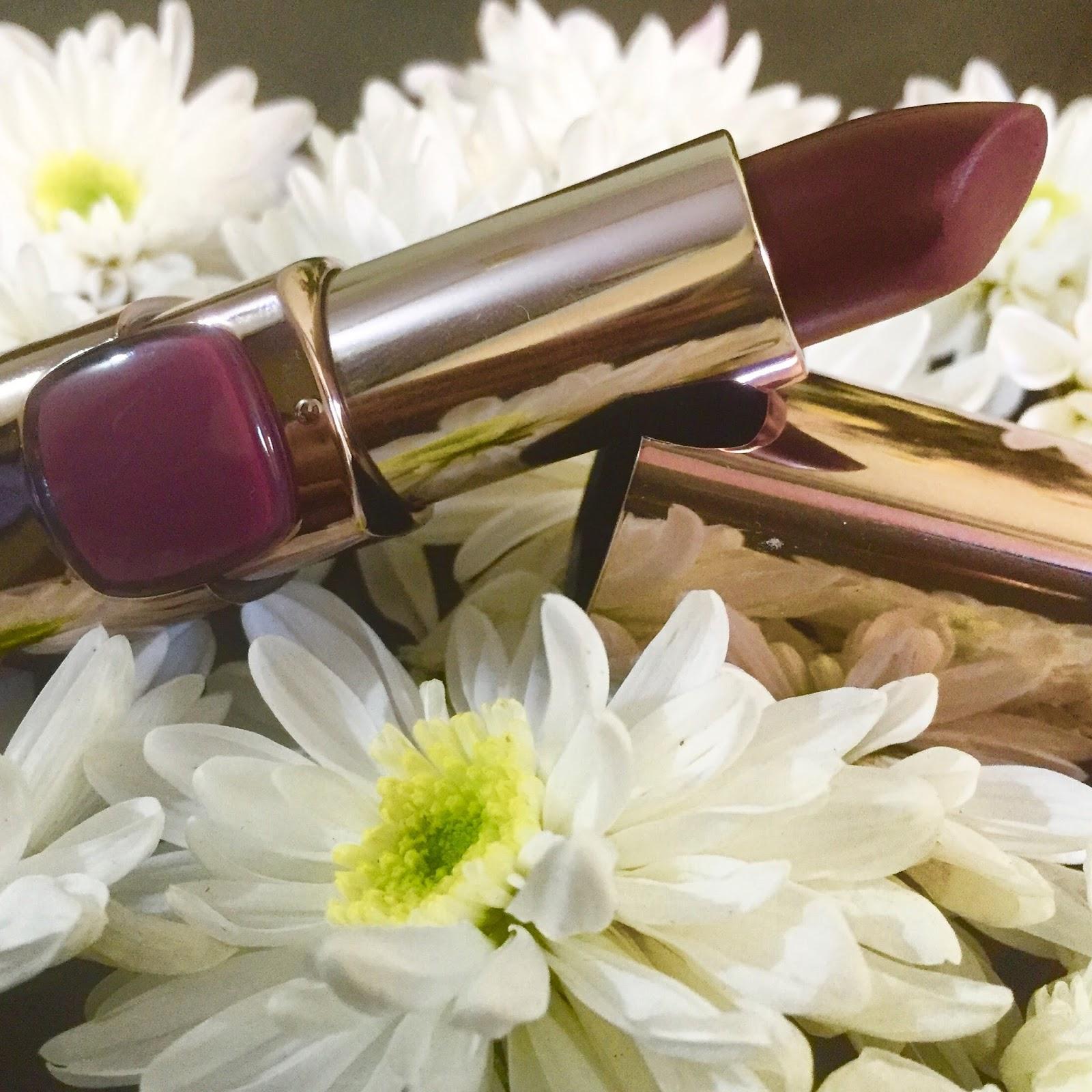 lipstick with flower inside