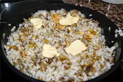 arroz cantonés ibérico paso 4