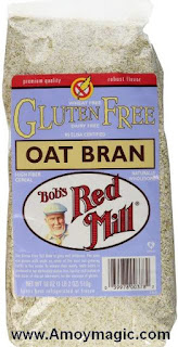 Bob's Red Mill Oat Bran best high fiber anti colon cancer