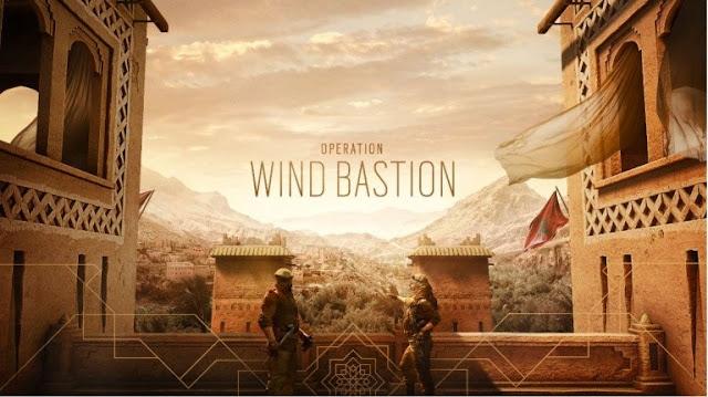 الكشف عن تفاصيل عملية Wind Bastion القادمة للعبة Rainbow Six Siege و معلومات مهمة حول العملاء و الخريطة المغربية ..