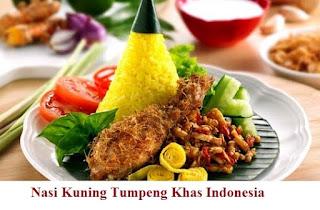 Cara membuat Nasi Kuning Tumpeng Khas Indonesia