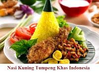 Resep Nasi Kuning Tumpeng Khas Indonesia