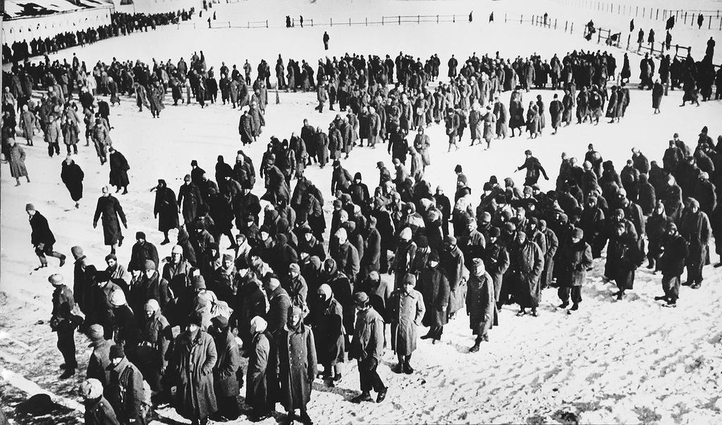 проспект пленные немцы в новосибирске двадцать третий