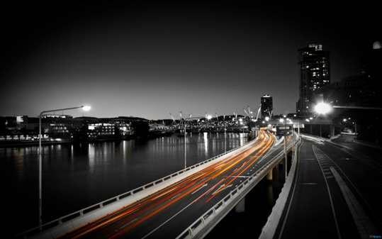 Photoshop: Tạo vệt sáng công trình kiến trúc