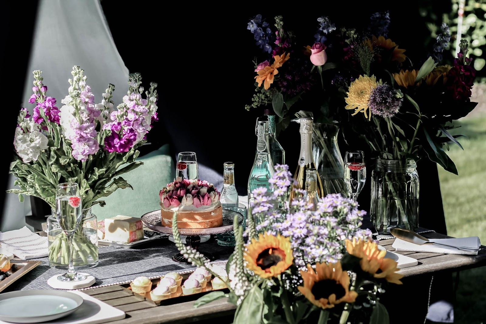 Summer Party Al Fresco Dining Food Styling