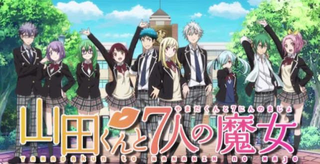 Yamada-kun and the Seven Witches - Best Shounen Anime of All Time