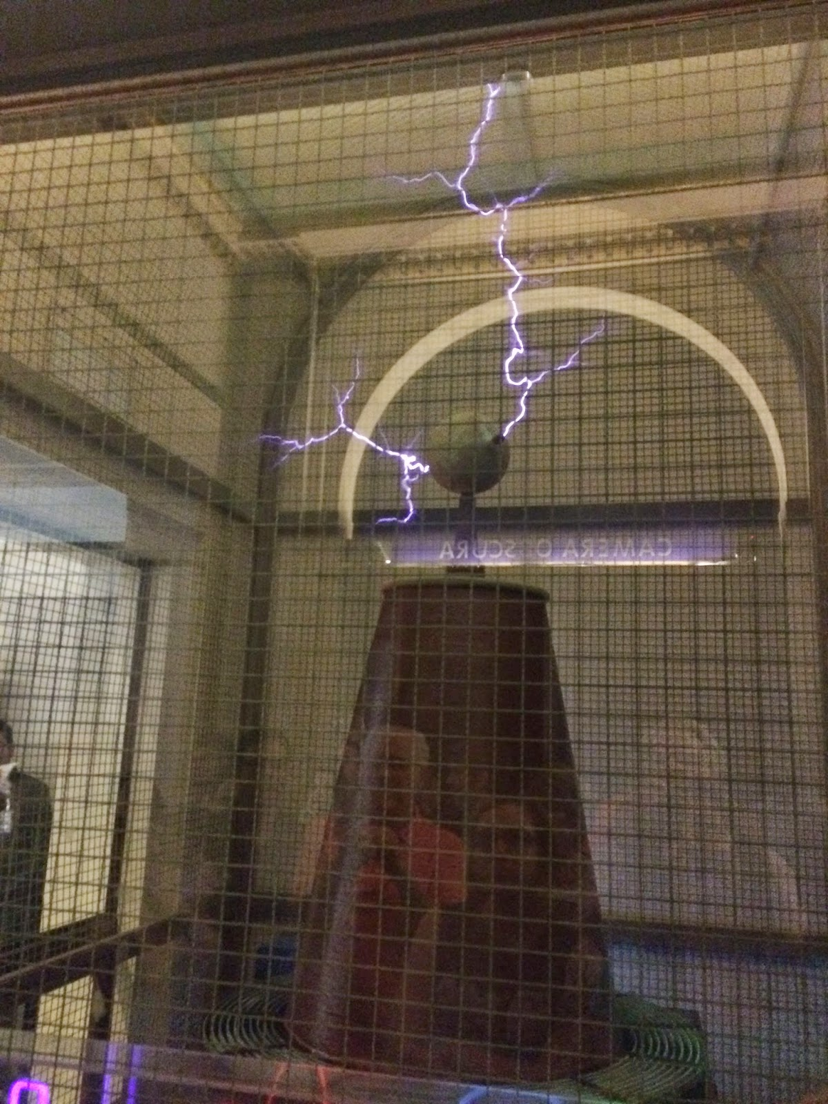 Griffith Observatory Tesla coil