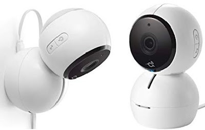 Arlo Baby Camera: Two Way Audio Video Monitor with Air/Motion Sensors, Night Vision, Music Player - Supports Voice Control/Assistant