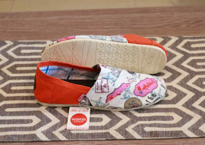 Sepatu Wakai Women Paris Orange