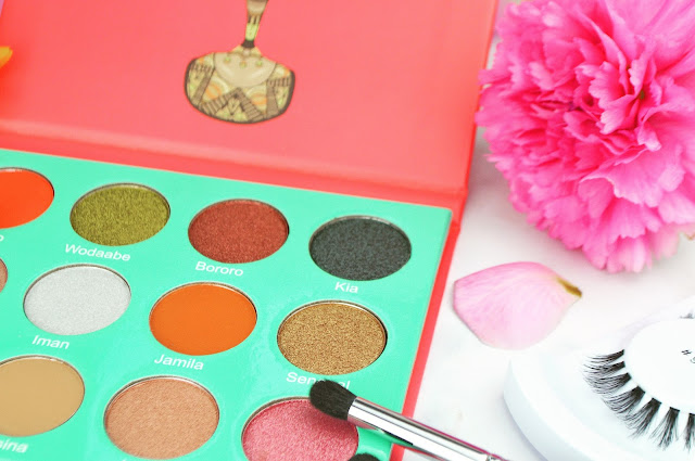 Juvia's Place 'The Saharan' Eyeshadow Palette Review & Swatches Lovelaughslipstick Blog